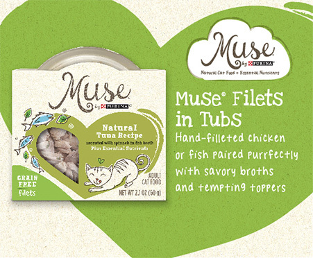 Muse® by Purina® Natural Filets in Tubs
