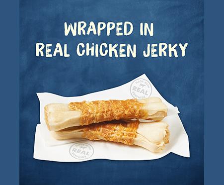 Purina® Busy Jerky Wraps Dog Treats
