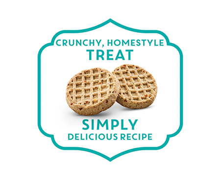 NEW! The Pioneer Woman Bacon, Maple & Apple Recipe Waffles Adult Dog Treats
