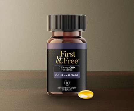 First & Free CBD Softgels