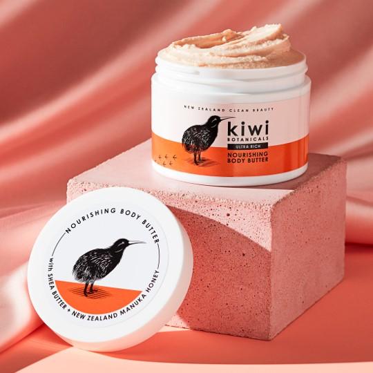 KIWI Botanicals Nourishing Body Butter with Manuka Honey