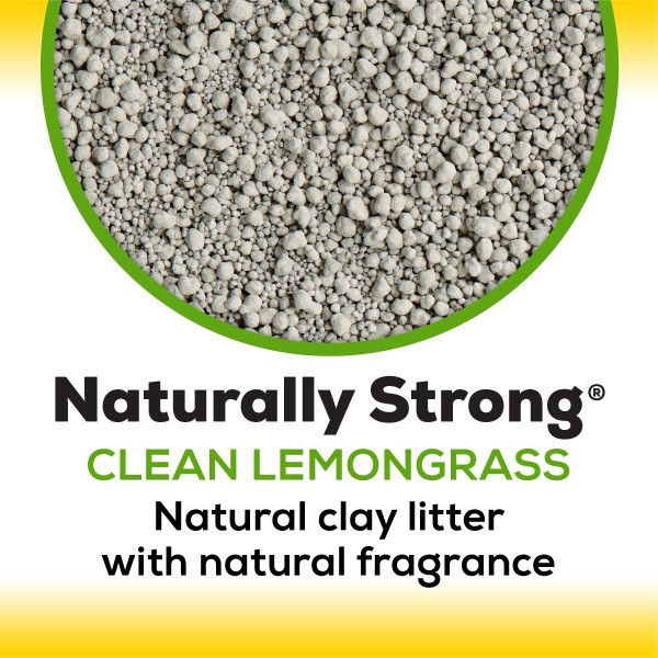Purina® Tidy Cats® Naturally Strong Clean Lemongrass Scent