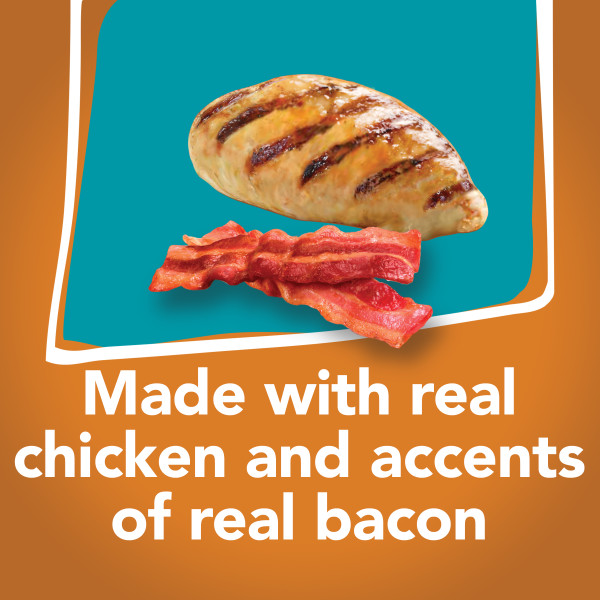 Purina® Friskies® Tasty Treasures Accented with Real Bacon Chicken Dinner Adult Wet Cat Food