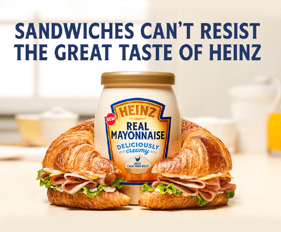 NEW Heinz® Real Mayonnaise