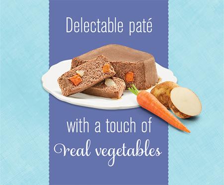 Bella Grain Free Pate with Vegetables
