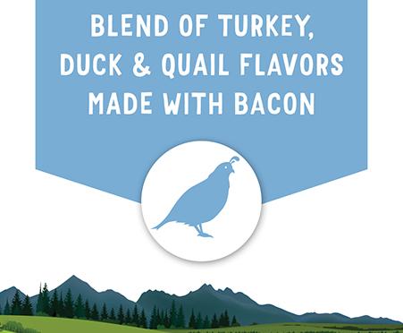 Purina® Beggin' Adventures Blend of Turkey, Duck & Quail Flavors