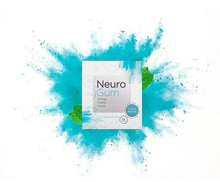 Neuro™ Gum | Caffeine + L-theanine | Energy and Focus Gum