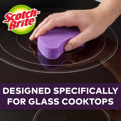 Scotch-Brite™ Glass Cooktop Pads