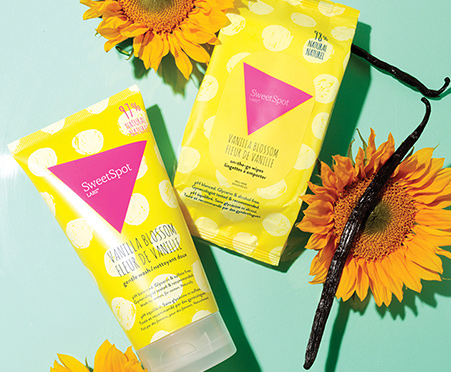 A trio of On-the-Go Personal Wipettes that are made by women, for women. Naturally.
