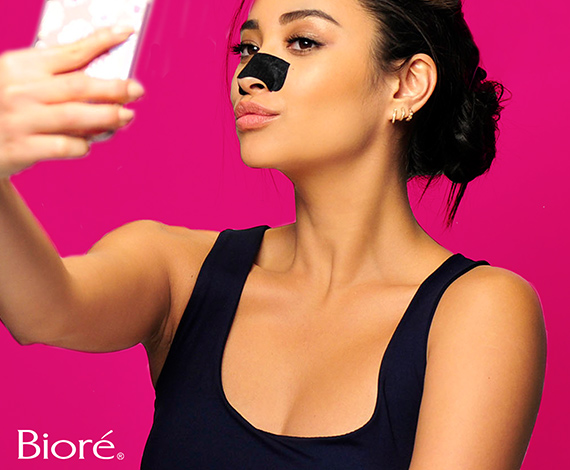 Bioré Self Heating One Minute Mask and Bioré Deep Cleansing Pore Strip