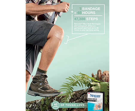 Nexcare™ Max Hold Waterproof Bandages
